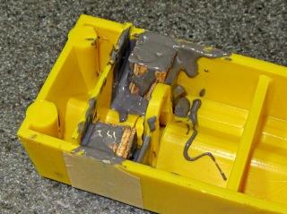 Wood-epoxy PE repair