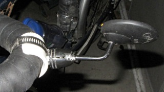 Handlebar Mirror Mount - fixed