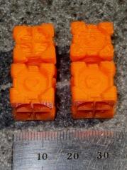 Companion Cubes - detail