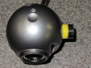 Logitech ball camera with mount