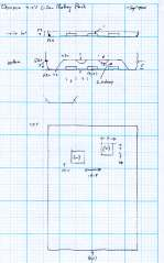 Wouxun KG-UV3D Battery Pack Dimensions