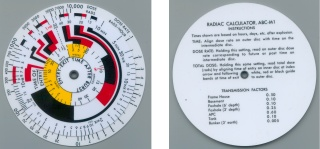 ABC-M1 Radiac Calculator