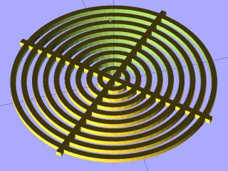 Circle Calibration - solid model