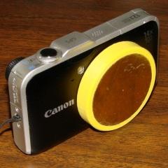 Canon SX230HS with lens cap