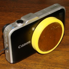 Canon SX230HS with lens cap
