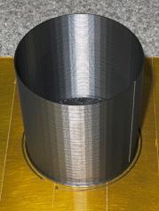 Camera mount tube - interior