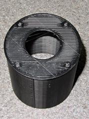 Camera mount tube