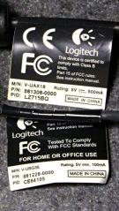 Logitech ball and notebook webcam data