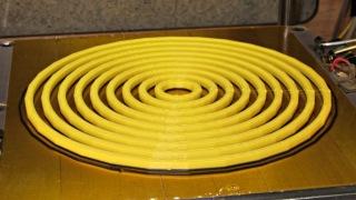 Large circle cal - unlinked rings