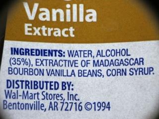 Wal-Mart Vanilla