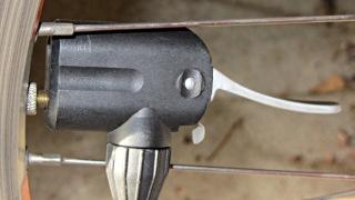 Correct Presta pump head attachment
