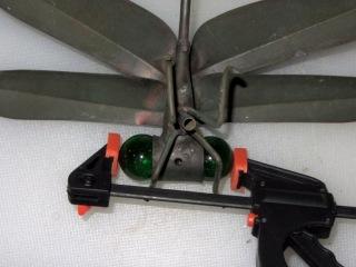 Dragonfly Ornament - eyeball repair