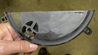 Belt sander disk dust catcher