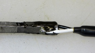 SMD tweezers - epoxy joint