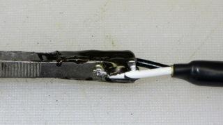 SMD tweezers - epoxy joint