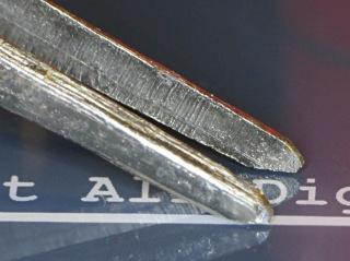 SMD tweezers - tip shape