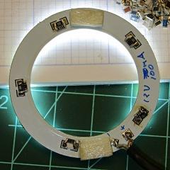 LED ring light - paralleled resistors
