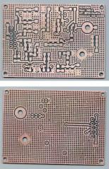 Wouxun HT GPS-Audio PCB - copper