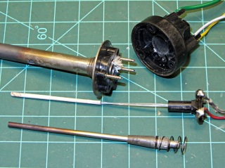 Weller EC1201A temperature probe disassembly