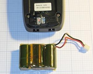 Ativa phone - rebuilt battery
