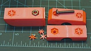 Superflash mount - bolt support