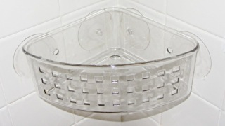 Shower basket - redrilled