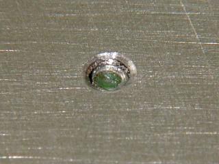 HBP center attachement screw - top