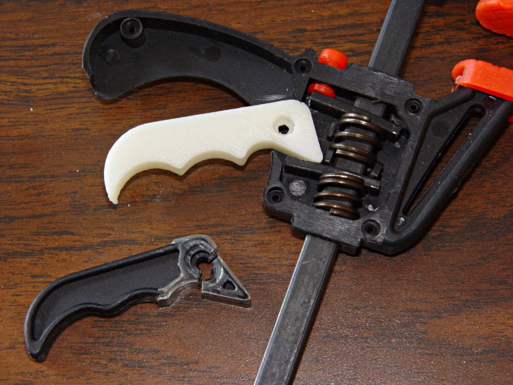 Harbor Freight Bar Clamp New Handle The Smell Of Molten Projects