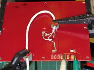 Thermistor rewiring - heat cure