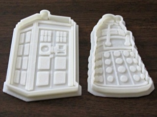 Dr Who Cookie Cutters