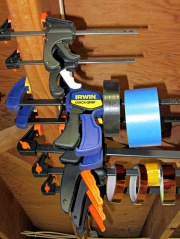 Too many bar clamps