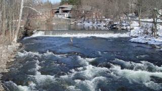 Red Oaks Mill Dam - 27 Feb 2005