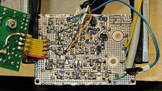 GPS-HT Wouxun interface - brassboard