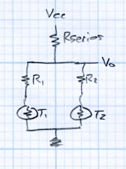 Thermistor Linearization - Dual Thermistors