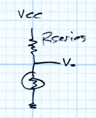 Thermistor Linearization - Rseries