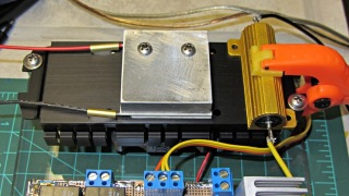 Peltier module - epoxy curing