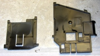 R380 Ink Tank Carrier side panels latches