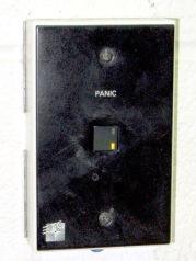 Intact panic button