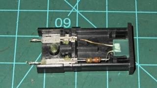 Failed LED panel indicator