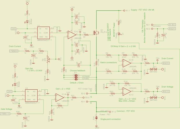 Schematic - MOSFET path