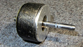 Freezer motor - scored shaft