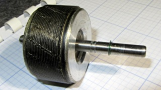 Freezer motor - relocated rotor