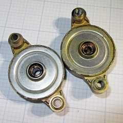 Freezer fan bearings
