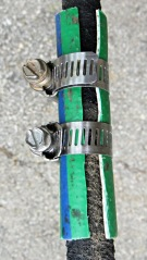 Spliced soaker hose