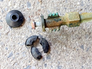 Frostproof Faucet Attempted Repair Part 1 The Smell Of