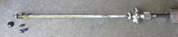 Frostproof faucet - stem with slide hammer