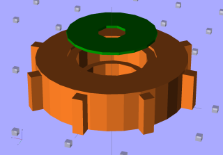 Fan Bearing Holder