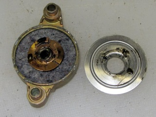 Fan motor endcap - interior