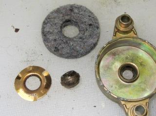 Fan motor endcap - parts