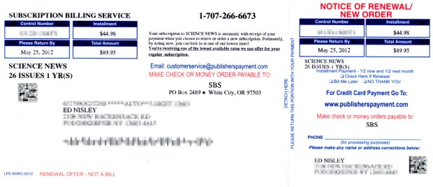 Subscription Billing Service - front